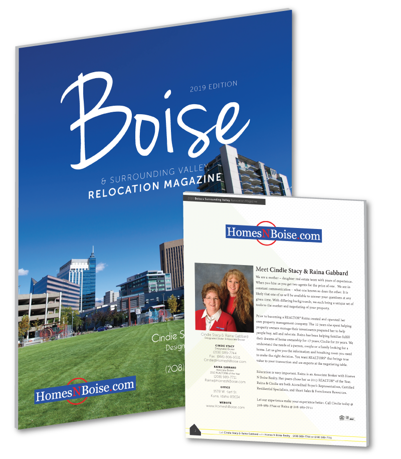 2019 Treasure Valley Relocation Magazine
